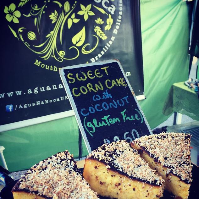 Bolo de Milho (sweet corn cake)