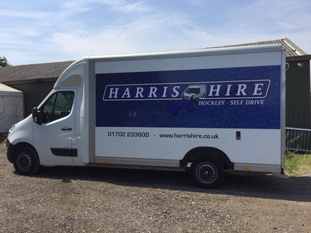 Take charge of your move through Harris Hire