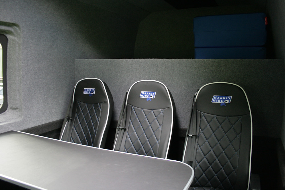 Traveling in a Luxury Van