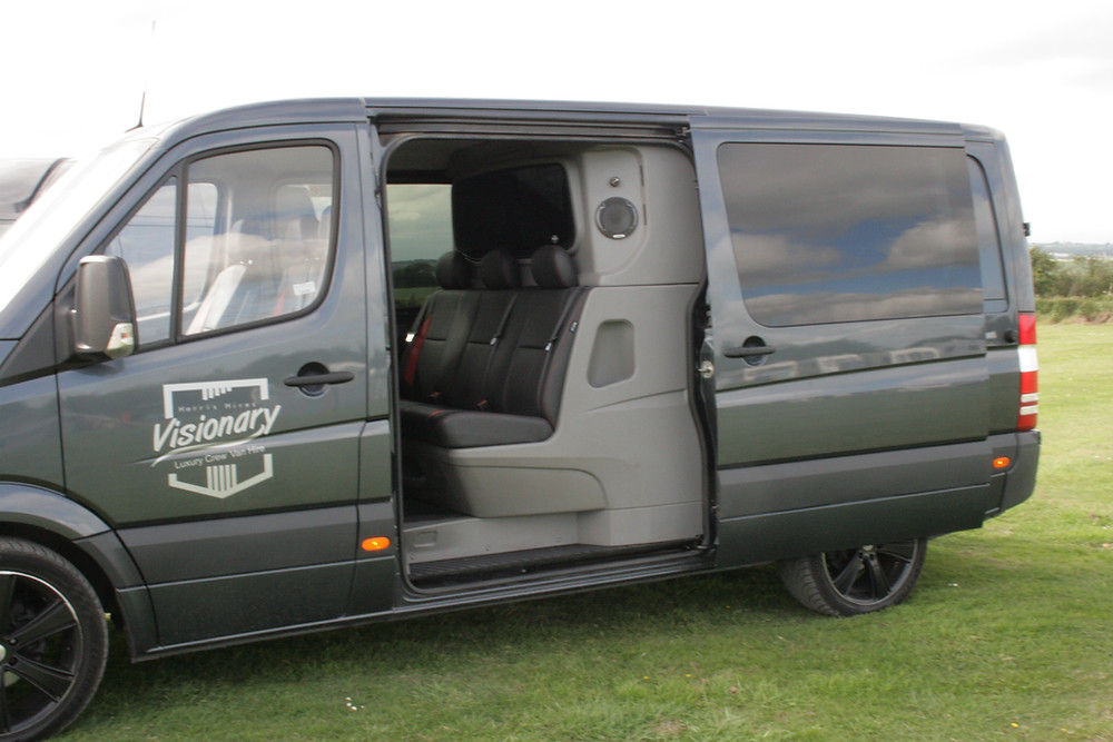 Springtime Traveling with a Harris Hire Van