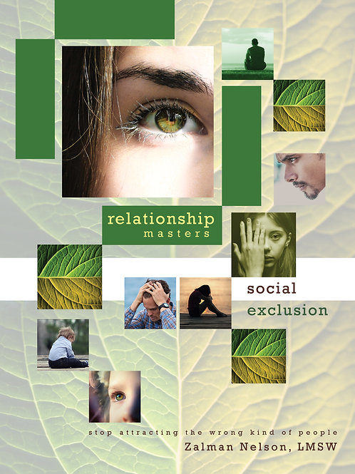 Social Exclusion Life Pattern Workbook