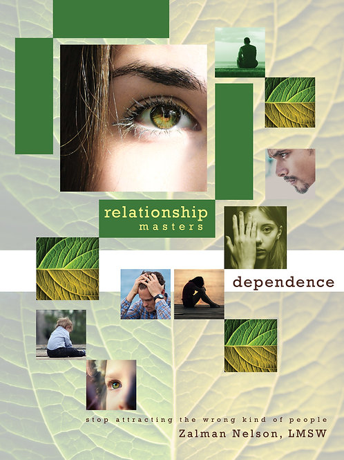 Dependence Life Pattern Workbook - PreOrder Only
