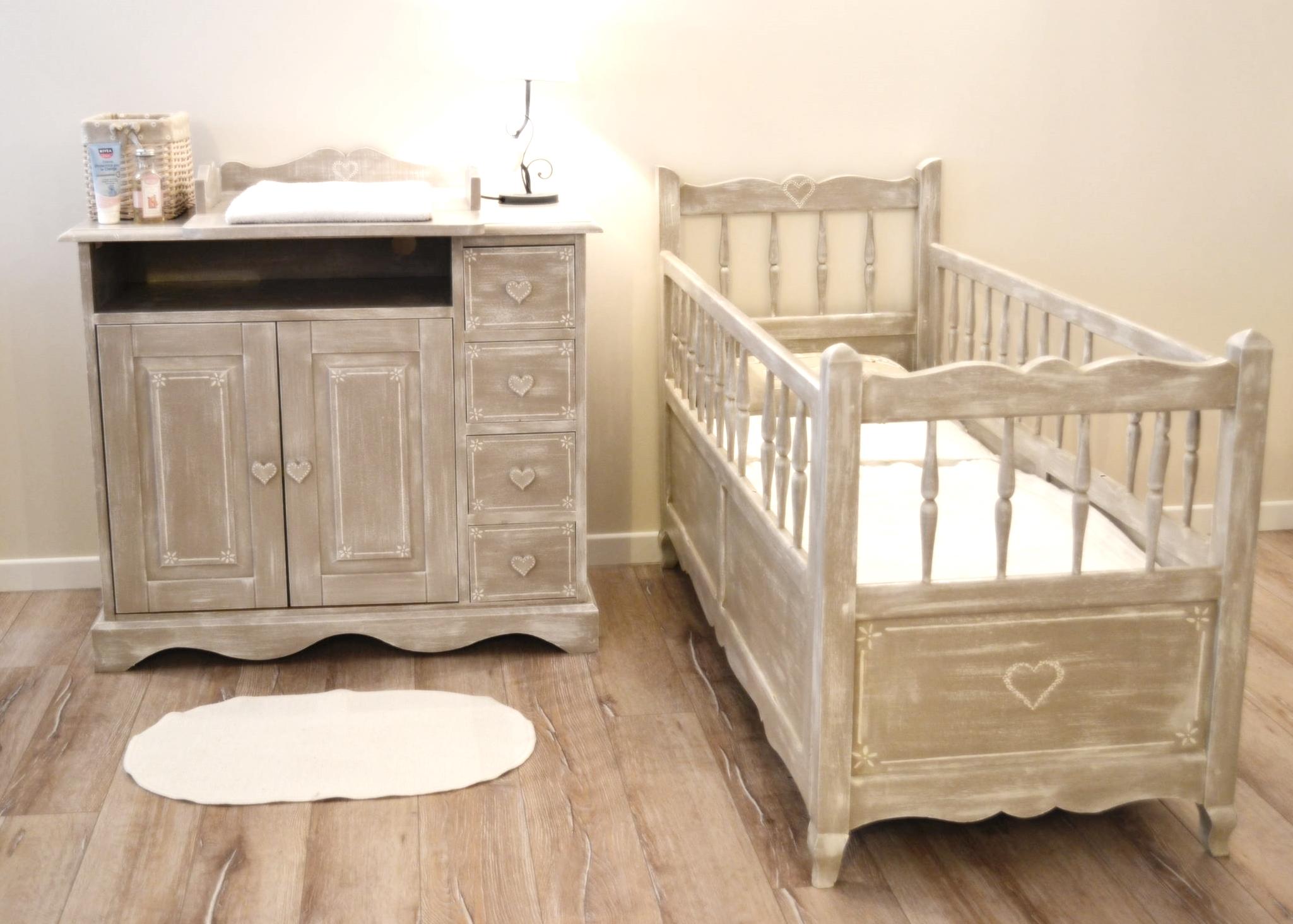 Menu des chambres de bébé