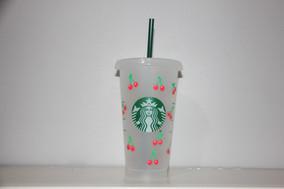 Cherry Starbucks Cold Cup