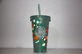 Orange Tree Starbucks Cold Cup