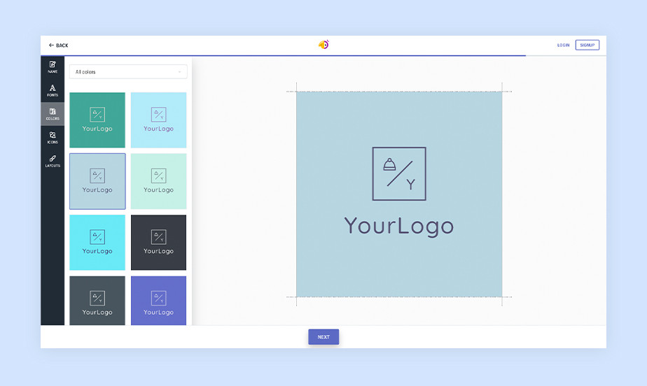 best logo maker example by hatchful
