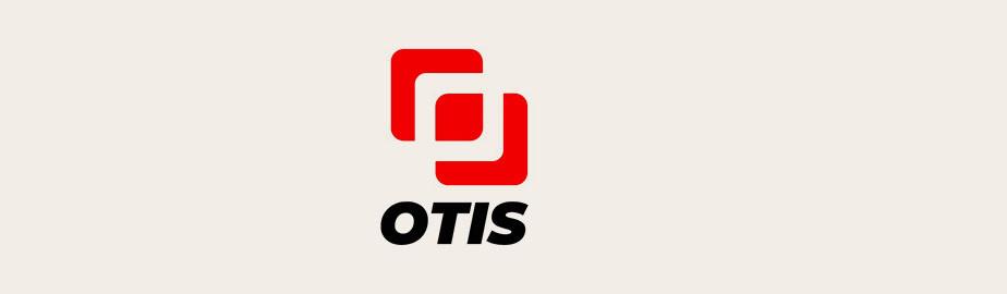 modern logo example by otis