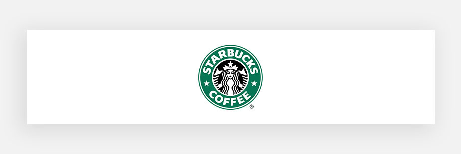 famous logos example by Starbucks