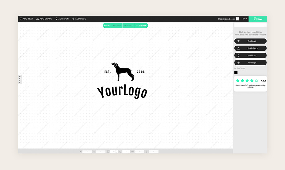 best logo maker example by FreeLogoDesign