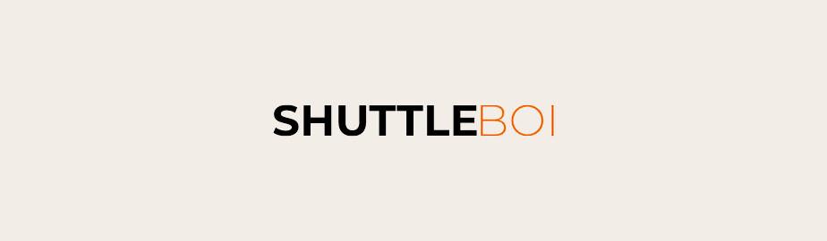 modern logo example by shuttle boi