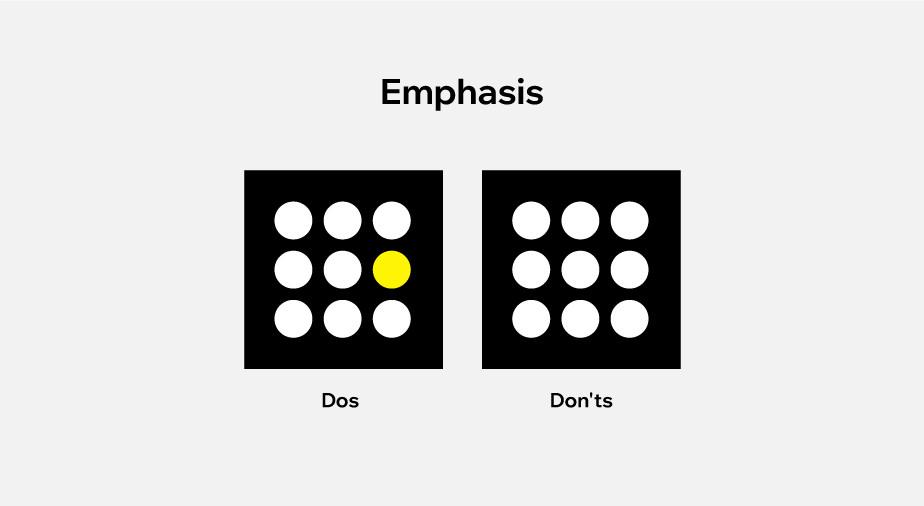 principles of design applied to web design: emphasis