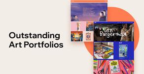 18 Outstanding Art Portfolio Websites