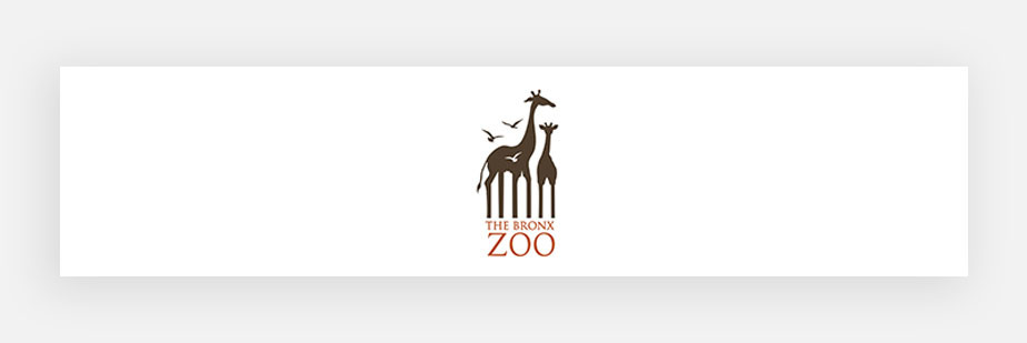 famous logos example by Bronx Zoo