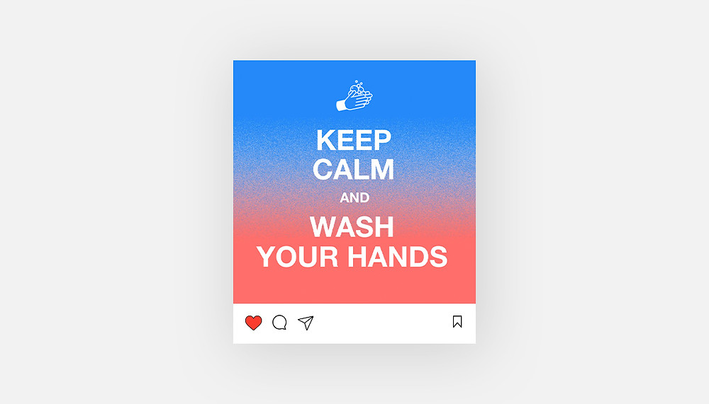 instagram template example
