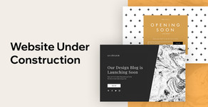 13 Professional Templates For Your Website Under Construction Page
