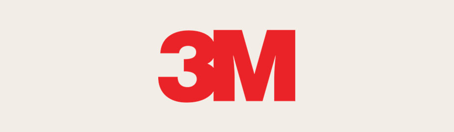 modern logo example by 3m