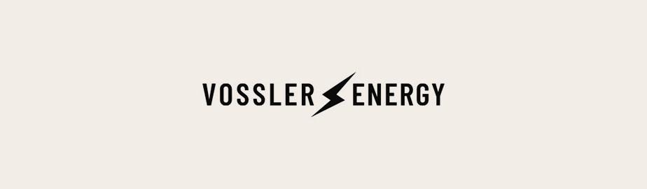 modern logo example by vossler energy