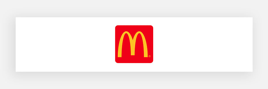 famous logos example by Mcdonald's