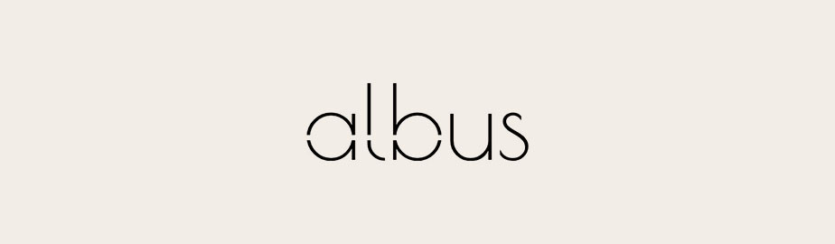 modern logo example by albus