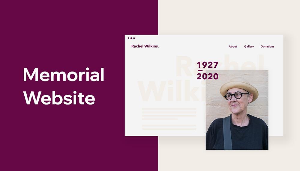 How to create a memorial website