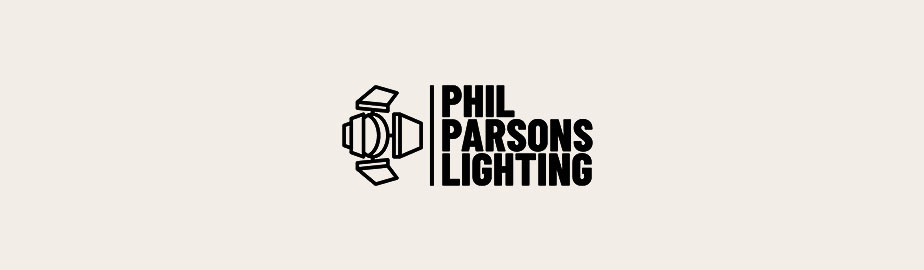 modern logo example by phil parsons lighting