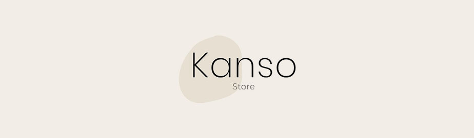 modern logo example by kanso store