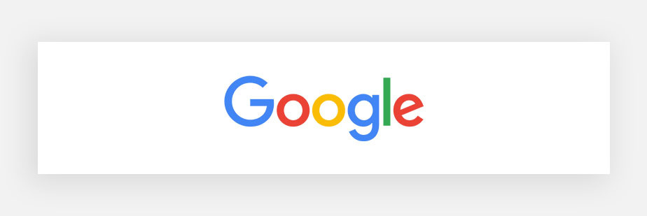 famous logos example by Google