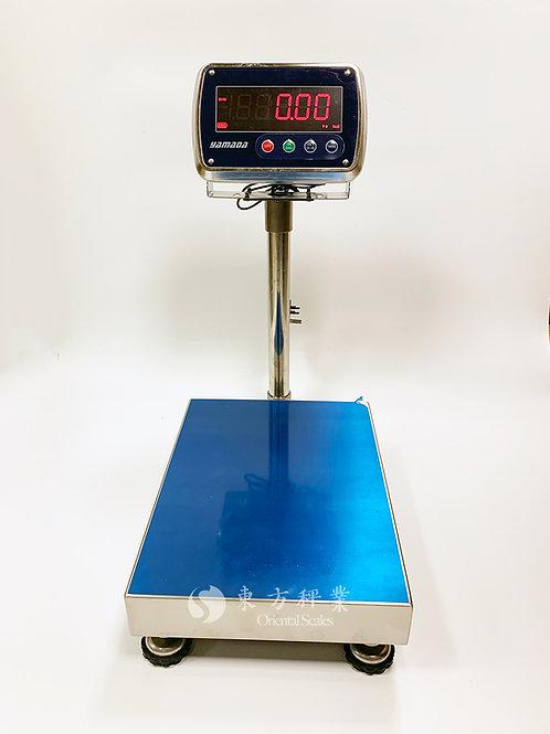 YAMADA 全不銹鋼IP68級別防水地磅 (中型稱台)
