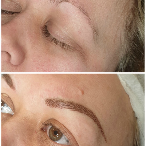 claire left.jpgNatural hair stroke microblading