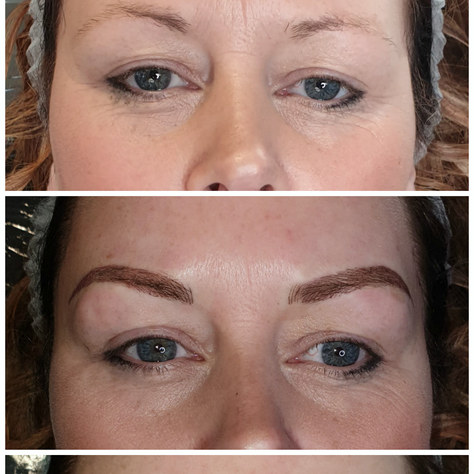 Machine ombre brow