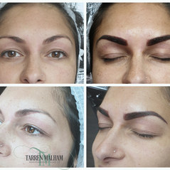 Machine Block shaded brow