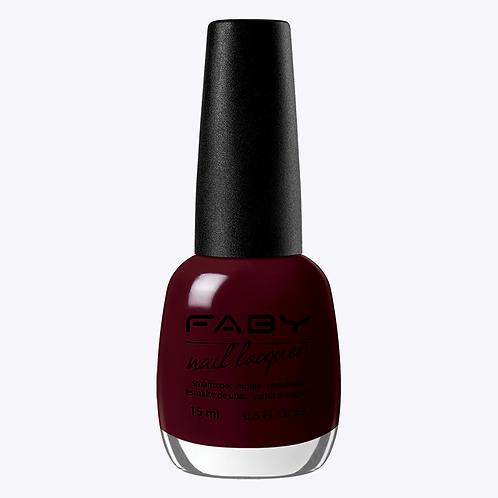 Rouge Foncé - Faby nagellak