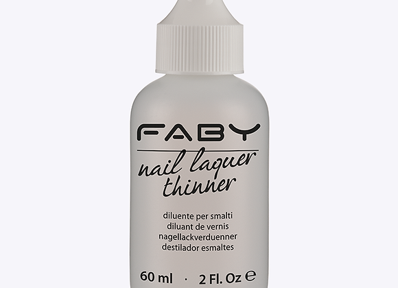 Nail lacquer thinner - Faby