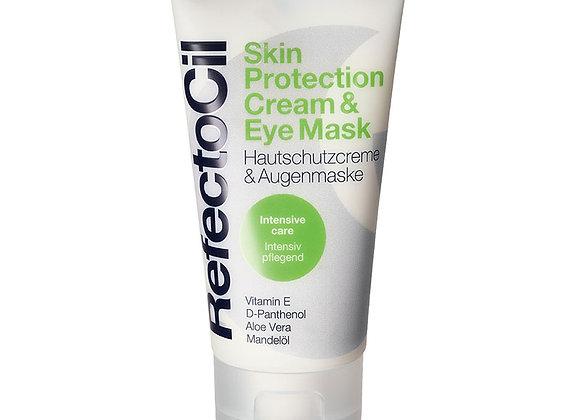 Oogmasker en beschermende crème voor gezicht