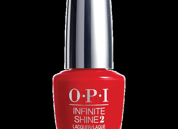 Unequivocally Crimson - OPI Infinite Shine