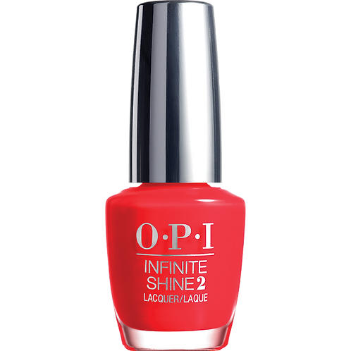 Unrepetantly red - OPI Infinite Shine