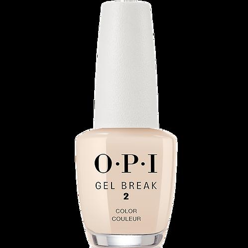 Gel Break Sheer Color - Too Tan-talizing (Stap 2) - OPI