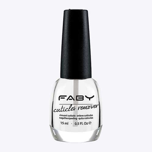 Cuticles remover - Faby