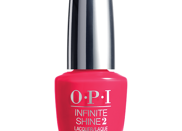She went on and on and on - OPI Infinite Shine
