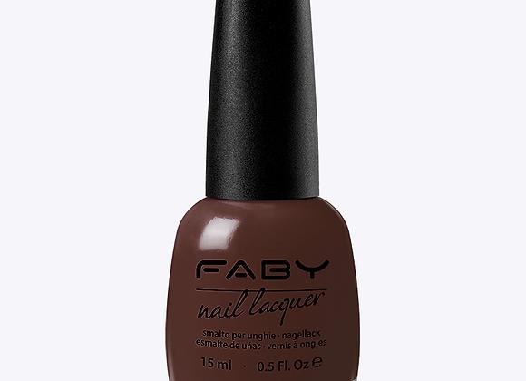 Donker bruin/rode nagellak FABY