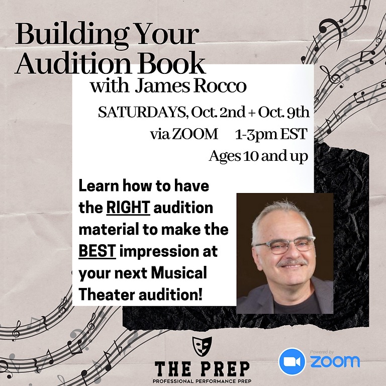 Building Your Audition Book with James Rocco