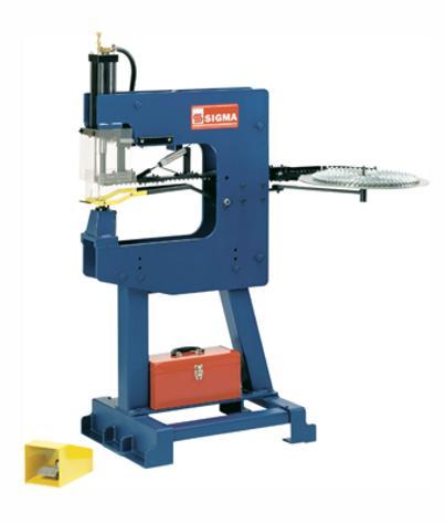 Sigma Model 4598 Coil Fed T-Nut Machine