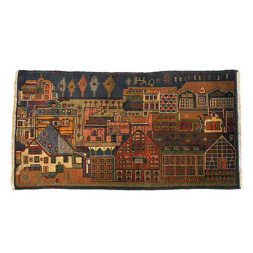 """OUTTA RUGS #103 """"City of Reflectors"""""""