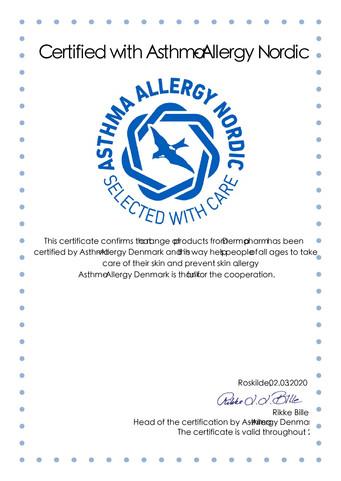 Dermapharm, Engelsk certifikat 2020_AAN-