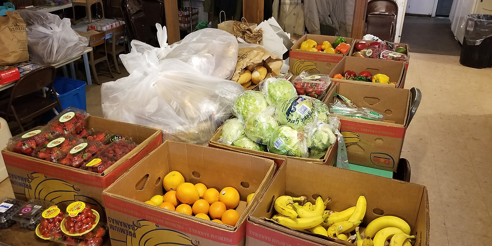 Food and Clothing Distribution Day