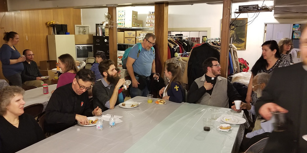 Community Dinner and Vespers