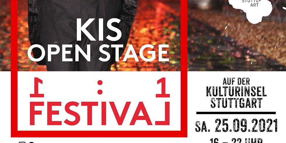KIS OPEN STAGE - im Rahmen des 1to1 Festivals