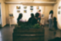 Künstlercafé auf der Kulturinsel Stuttgart