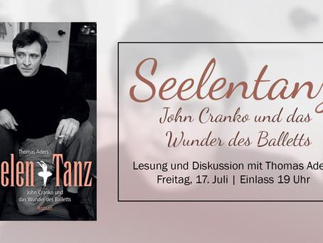 Lesung: Seelentanz – John Cranko und das Wunder des Balletts | Fr, 17. Juli