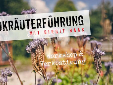 Wildkräuterführung mit Birgit Haas | So, 09. & Sa, 15. August